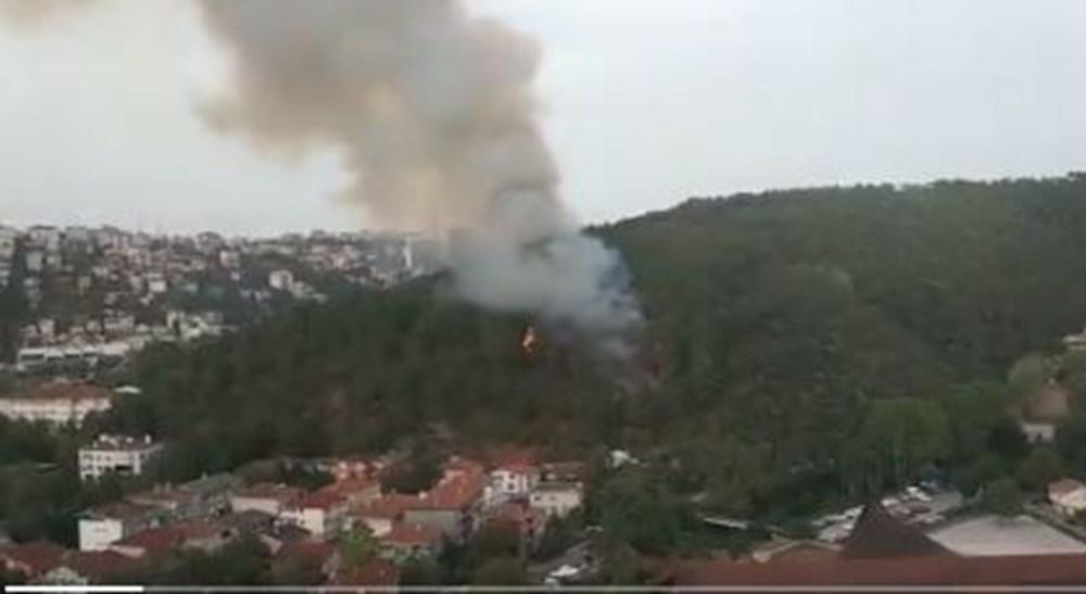Son Dakika: Anadolu Hisarı'nda orman yangını - 4