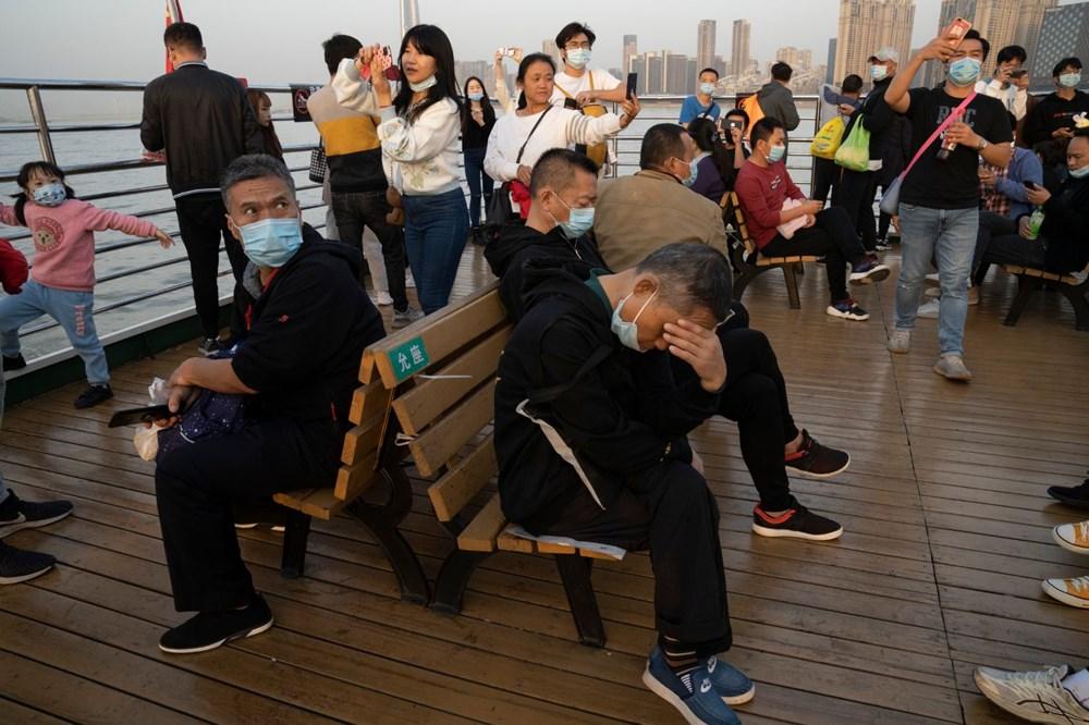 Wuhan'da salgından eser yok: Sıkı karantinanın yıldönümü - 6