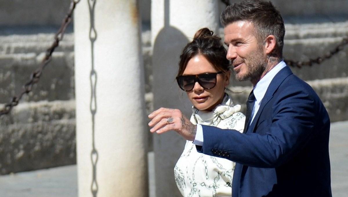 David Beckham, Victoria Beckham'ın reklam filmi için yönetmen koltuğuna oturdu