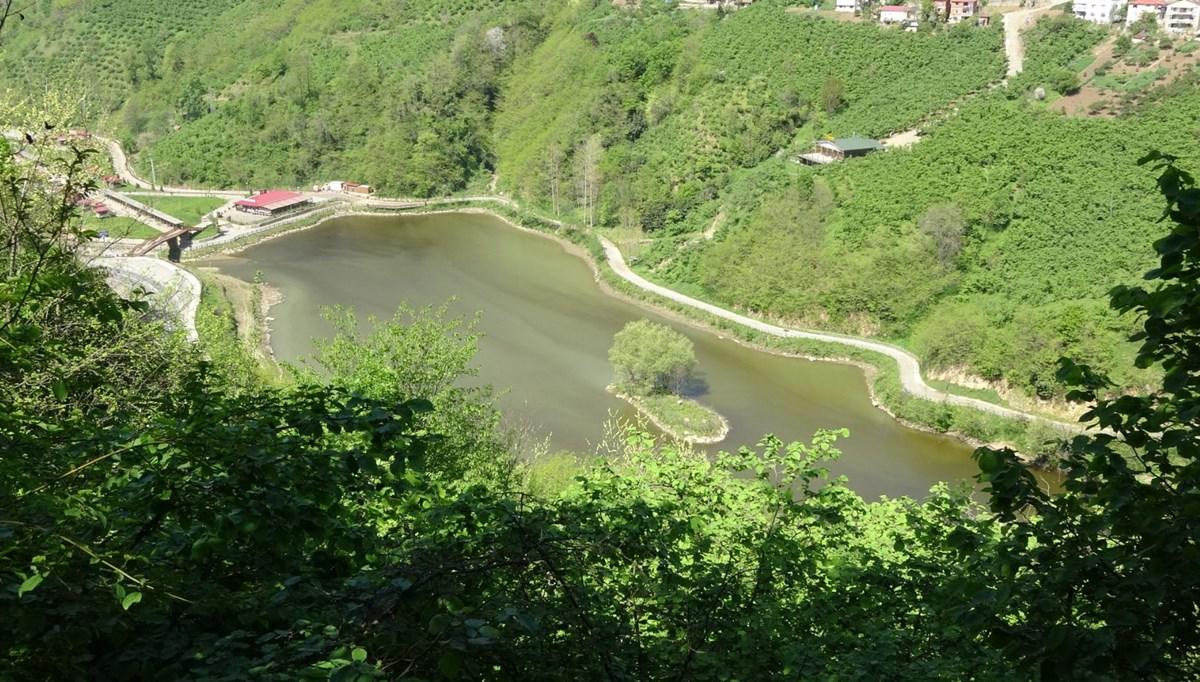 Trabzon'da doğa harikası Sera Gölü artık kirlenmeyecek