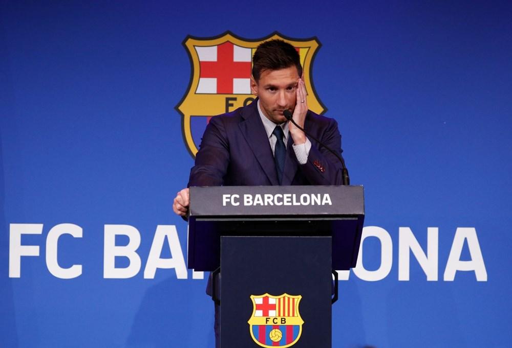 Bir devrin sonu: Lionel Messi, Barcelona'ya gözyaşları içinde veda etti - 6