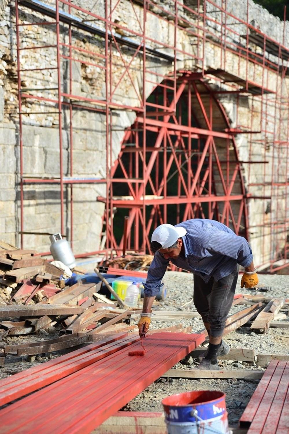 Troya'nın 3 bin 500 yıllık su kemeri restore ediliyor - 2