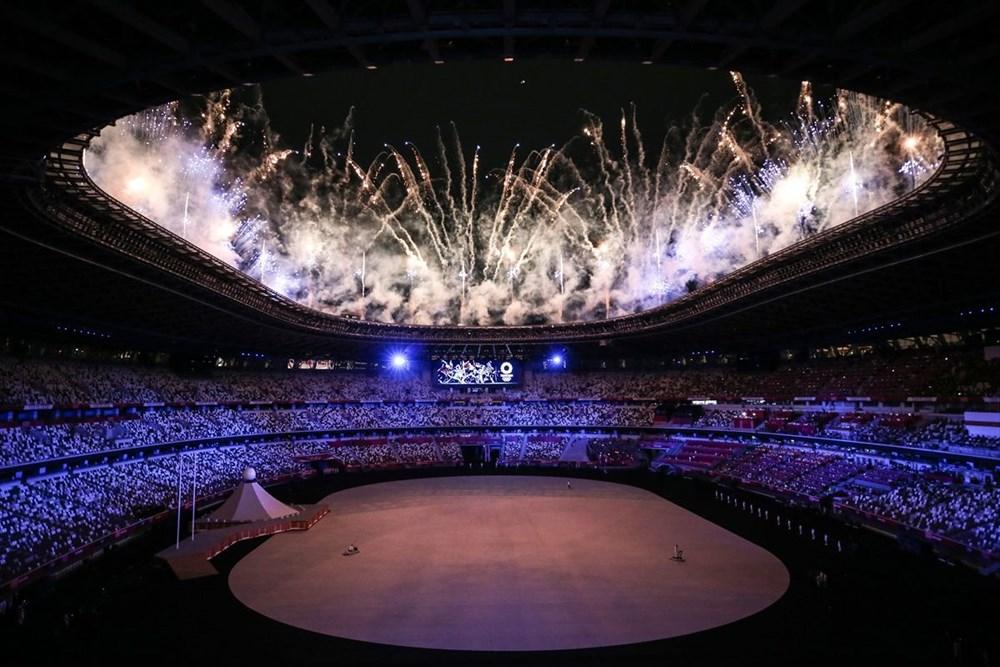 2020 Tokyo Olimpiyatları görkemli açılış töreniyle başladı - 76
