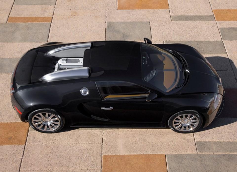 The Bugatti Veyron EB 16.4
