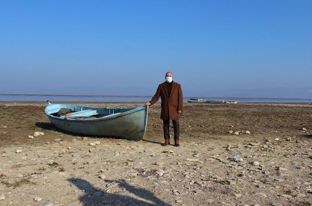 'Kuş cenneti' Marmara Gölü'nde derinlik 40 santimetreye düştü - 3