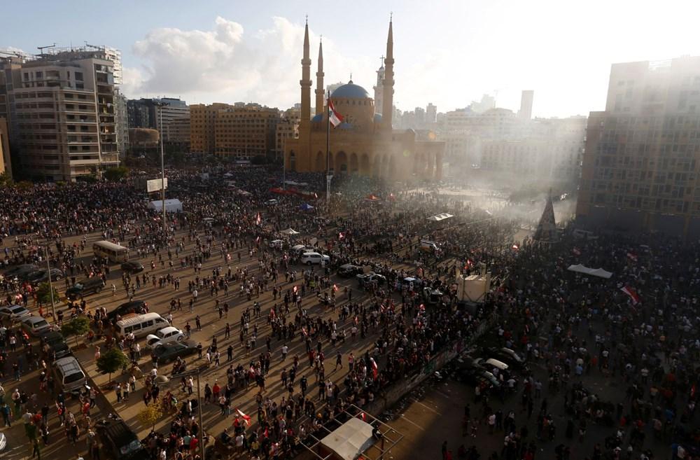 Lübnan'da hükümet karşıtı gösteri (Lübnan Başbakanı'ndan erken seçim açıklaması) - 10