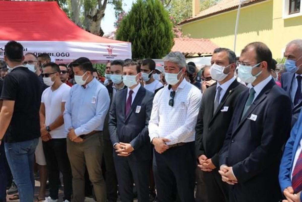 Muğla'da 'orman şehidi' törenle son yolculuğuna uğurlandı - 32