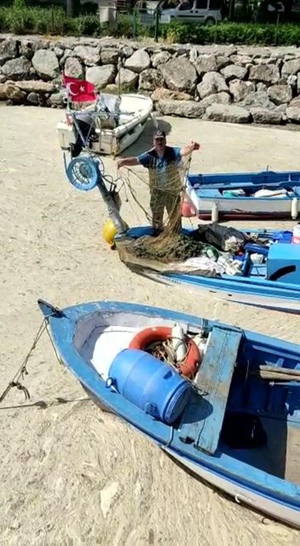 Deniz salyası ağları duman etti: Balıkçılık bitti - 6