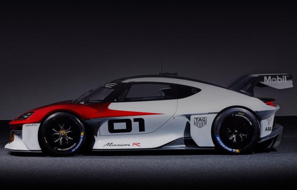 Porsche Mission R Konsepti tanıtıldı: Elektrikten gelen 1.088 beygirlik güç - 2