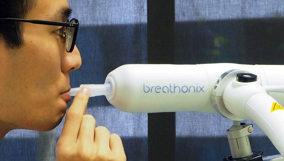 Singapur'da Covid-19'u bir dakikada tespit eden nefes testinin kullanımı onaylandı