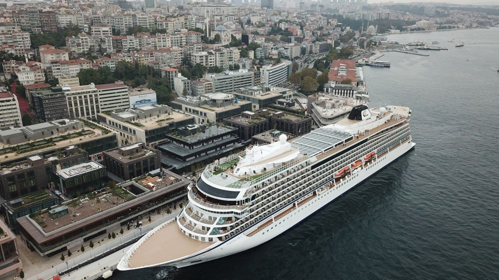 Galataport İstanbul'a ikinci yolcu gemisi demir attı - 7