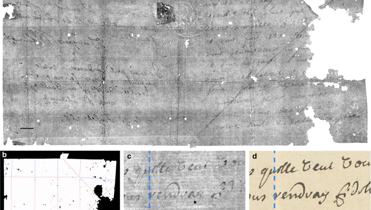 300 yıllık mektubu açmadan okudular