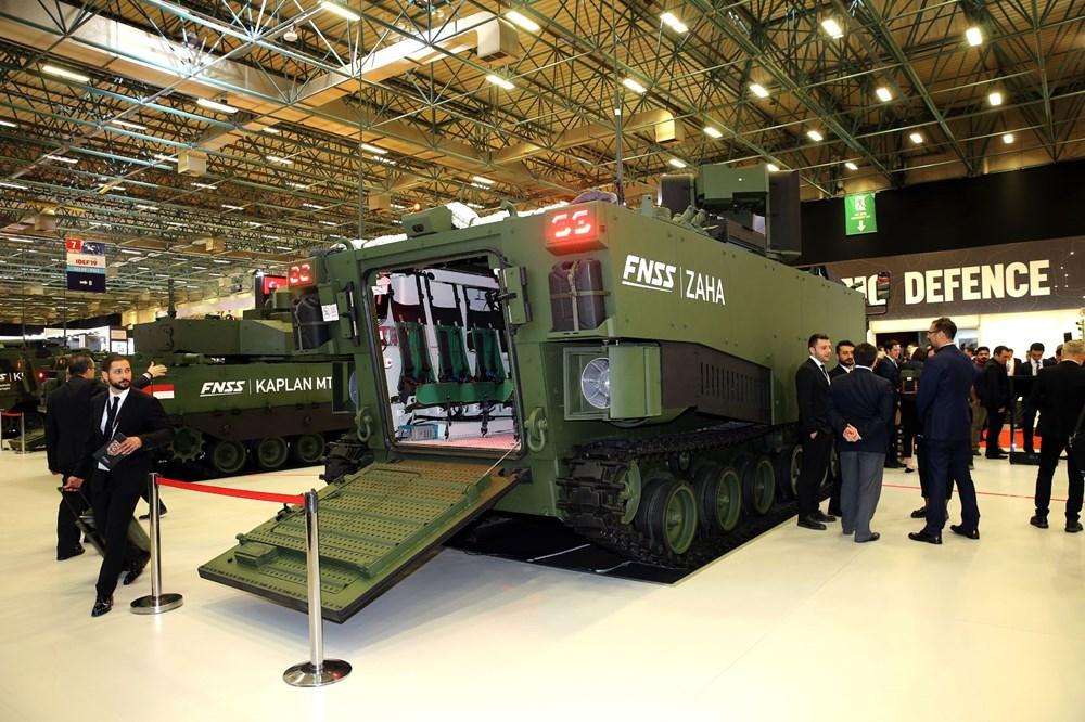 Dijital birliğin robot askeri Barkan göreve hazırlanıyor (Türkiye'nin yeni nesil yerli silahları) - 116