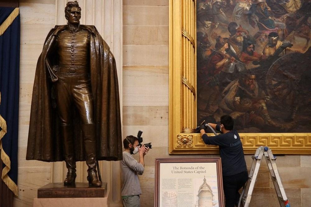 Kongre baskınında zarar gören sanat eserleri için 25 bin dolar gerekiyor - 2