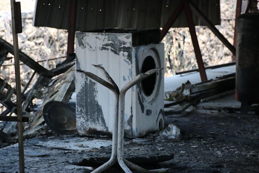 Manavgat'ta safari tesisi küle döndü, alevlerin arasında kalan işletme sahibi ölümden döndü - 11