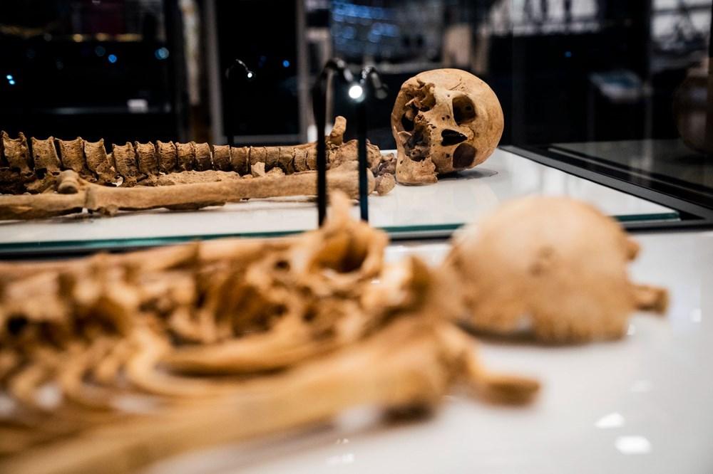 İki Viking savaşçısının kalıntıları Danimarka Ulusal Müzesi'nde - 2