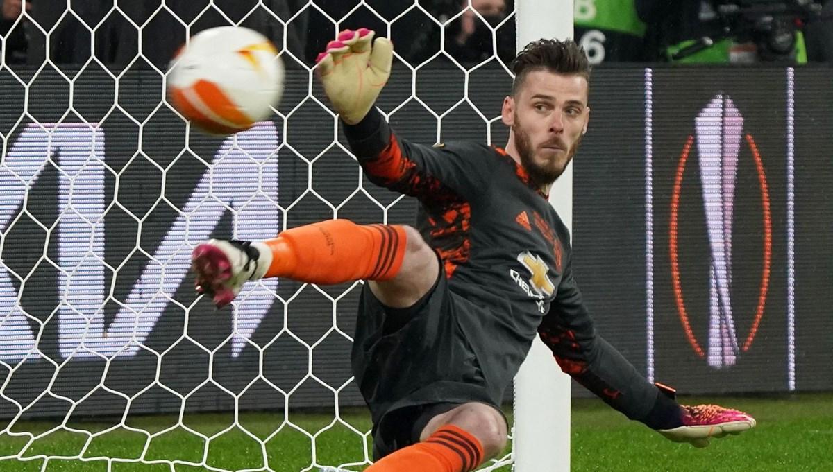 Penaltı kurtaramayan kaleci: De Gea
