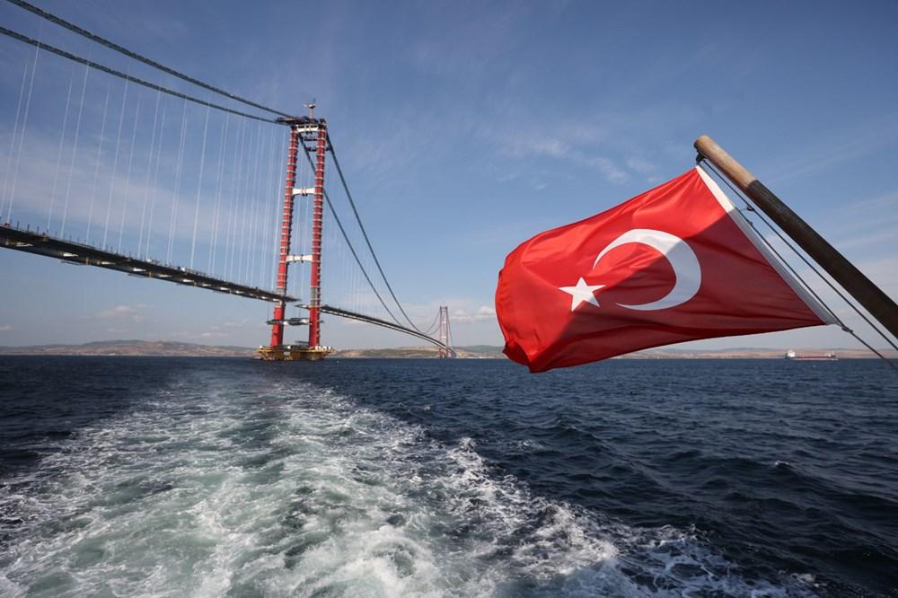 Bakan 1915 Çanakkale Köprüsü üzerinden Anadolu'dan Avrupa'ya geçti - 9