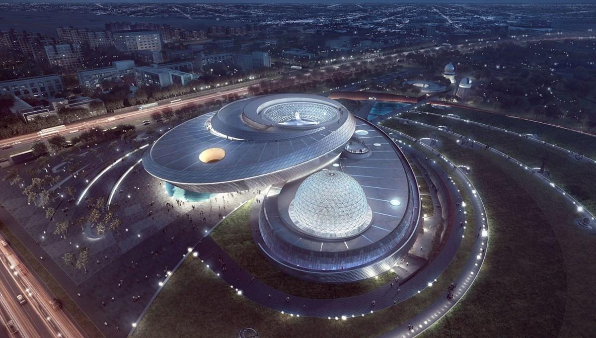 Dünyanın en büyük astronomi müzesi Şanghay'da açılıyor