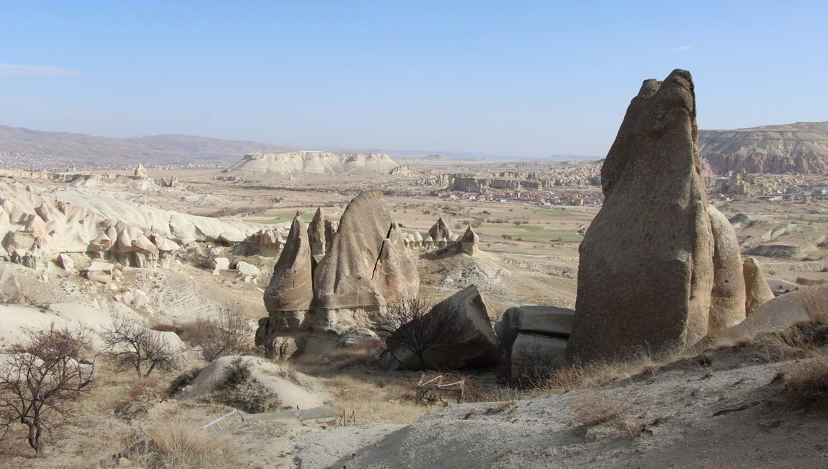 Fairy chimneys collapse in Cappadocia