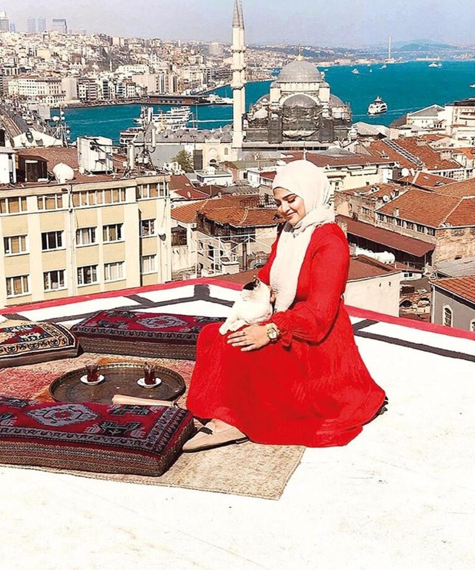 Tarihi yarımadadan-köprülere İstanbul manzarası