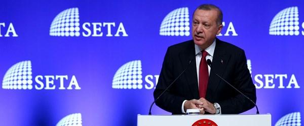 Erdoğan: Onların iPhone'u varsa, öbür tarafta Samsung var, Venus var, Vestel var