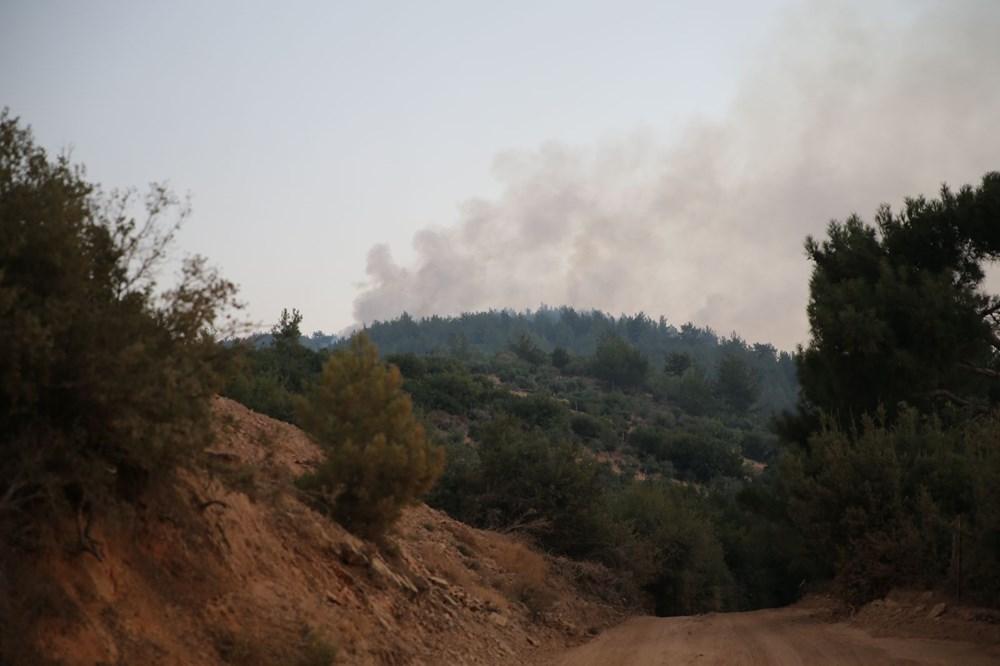 Mersin ve Hatay'da orman yangınları devam ediyor - 1