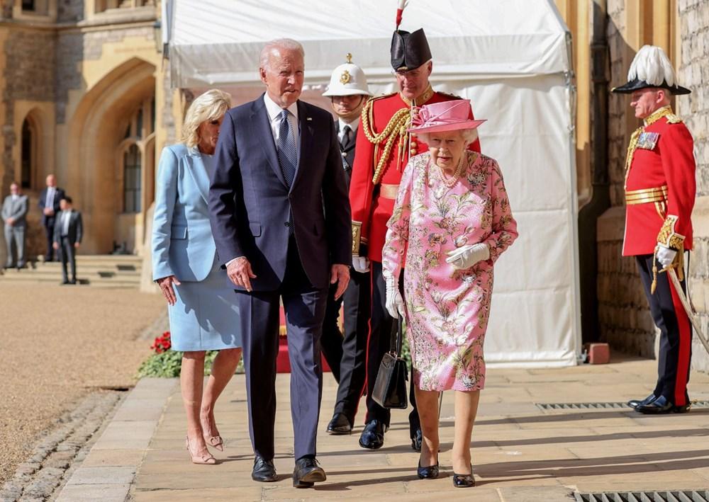 ABD Başkanı Biden, İngiltere Kraliçesi Elizabeth ile buluştu - 8