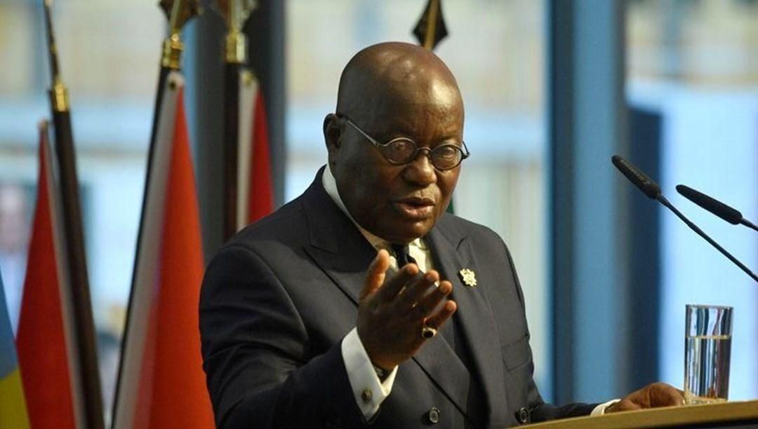 Gana Devlet Başkanı Akuffo-Addo corona virüs şüphesiyle karantinada