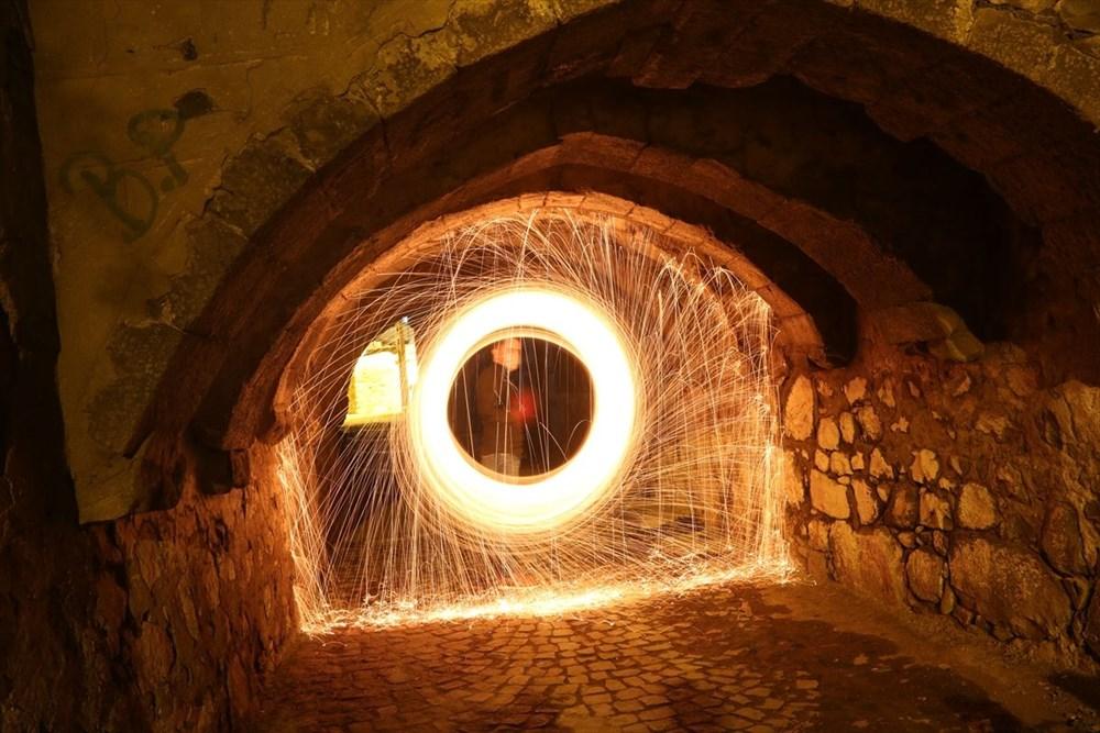 """Tarihi mekanlar """"ışıkla boyama"""" tekniğiyle fotoğraflandı - 5"""