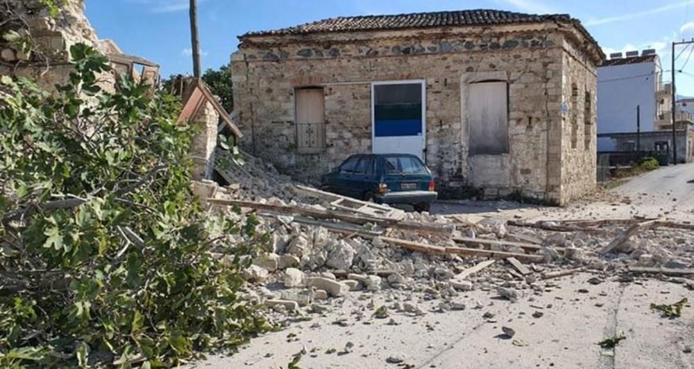 Depremin merkez üssü Yunan adası Sisam'dan ilk fotoğraflar - 11
