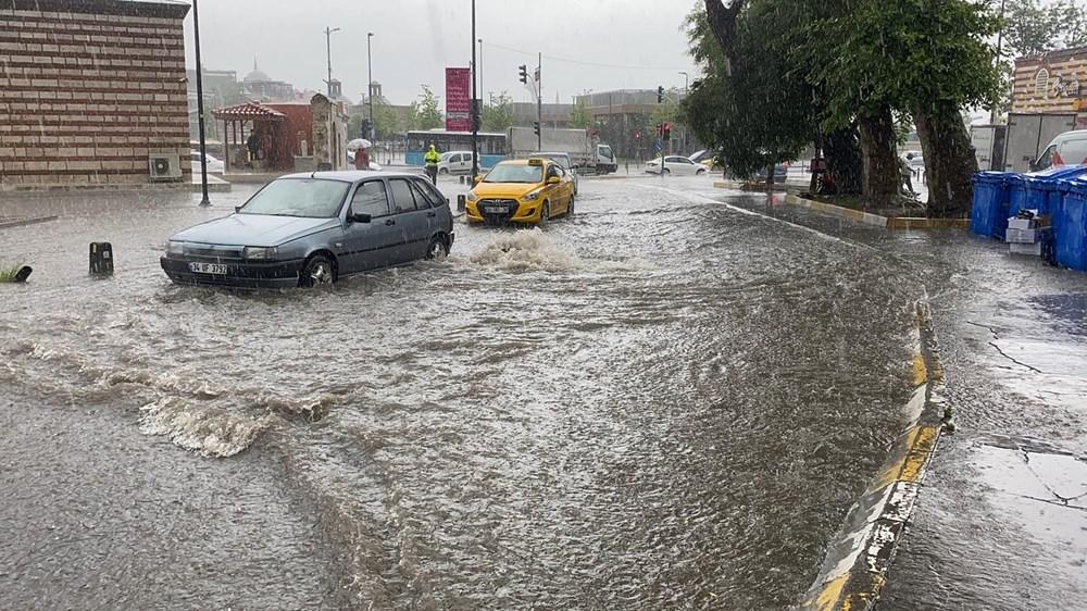 İstanbul'da sağanak, dolu ve hortum - 19