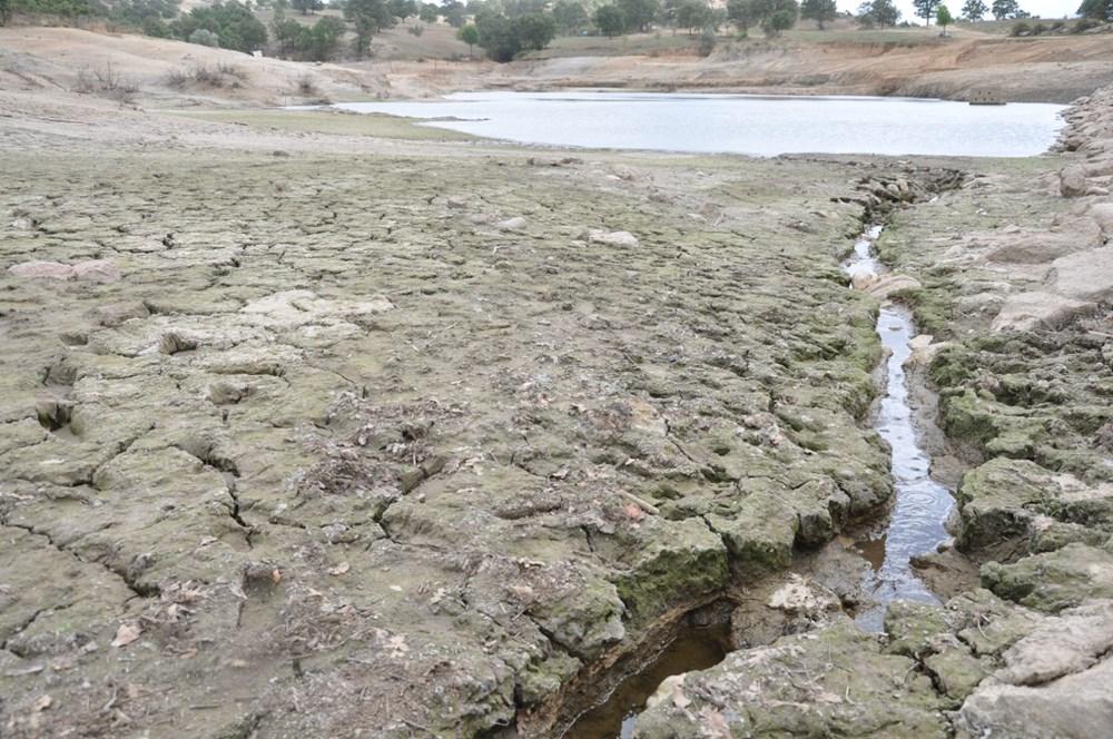 Efir Göleti'inde su seviyesi yüzde 80 azaldı - 2