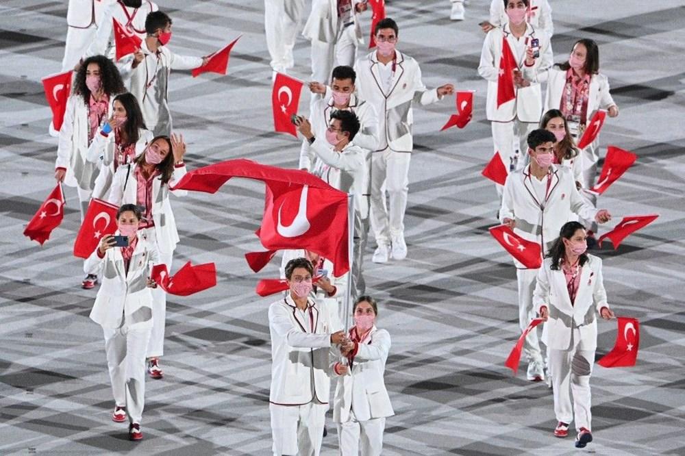 2020 Tokyo Olimpiyatları görkemli açılış töreniyle başladı - 18