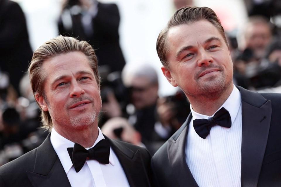 Brad Pitt ve Leonardo DiCaprio da eğlence sektörünün en güçlü isimlerinden.
