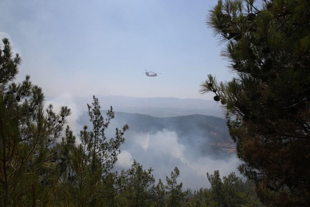 Hatay ve Mersin'de orman yangını - 11