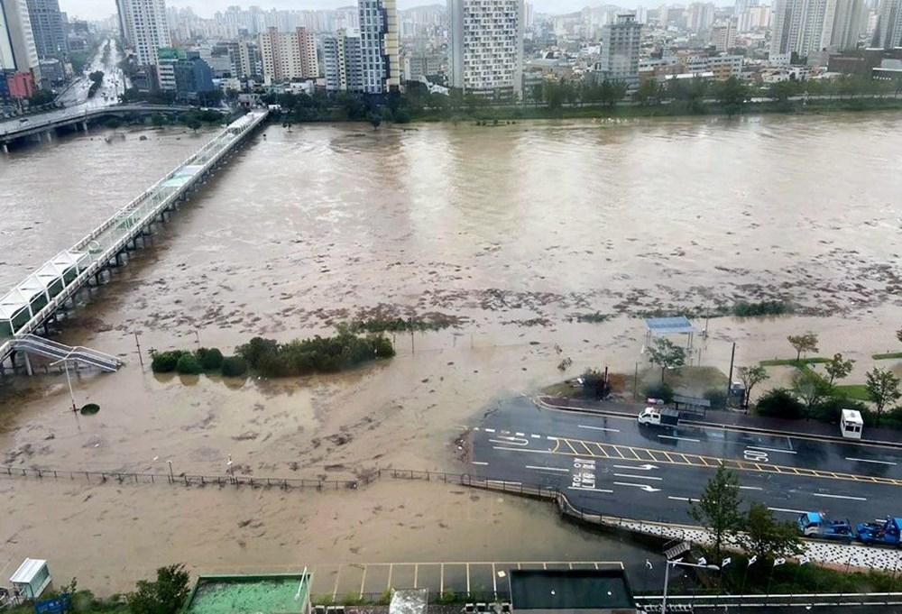 Japonya'nın güneybatısını vuran Haişen tayfununda 2 ölü, 100'den fazla yaralı - 8