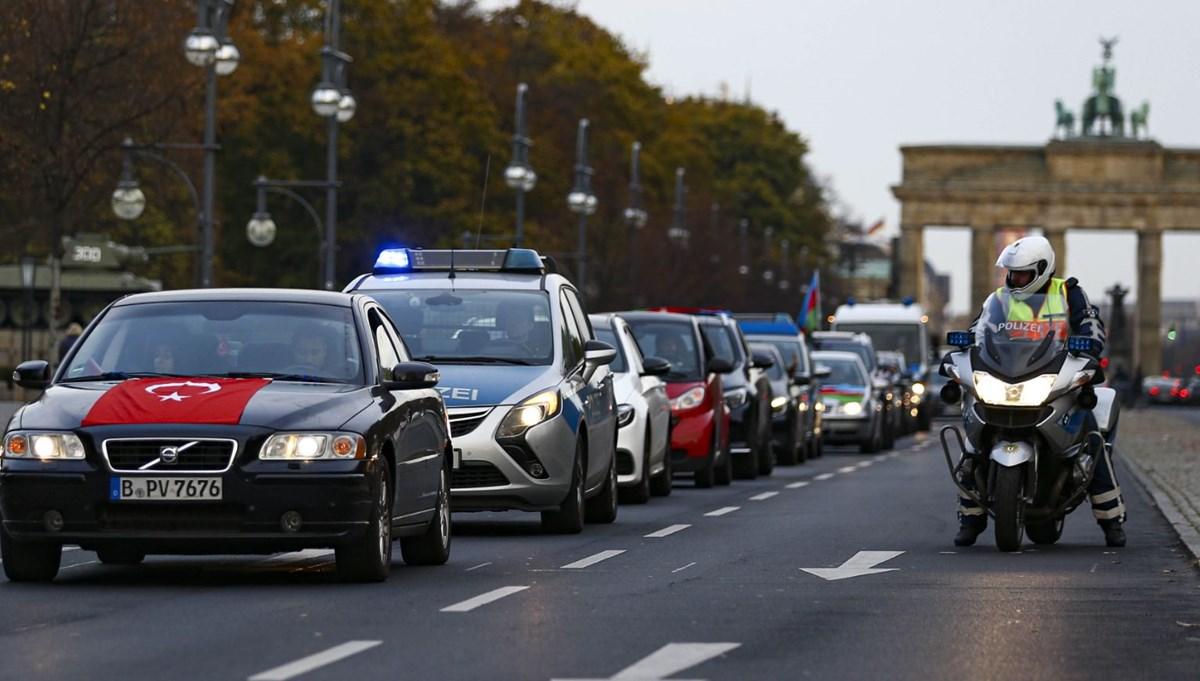 Berlin'de zafer konvoyu