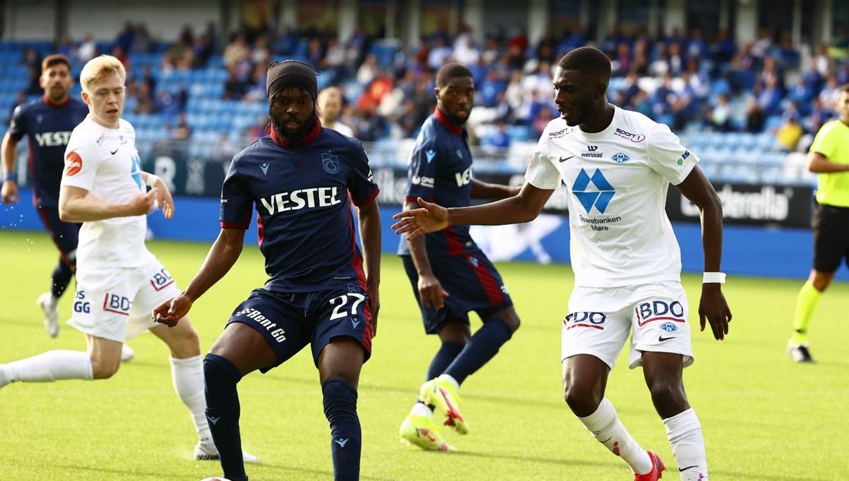 SON DAKİKA: Trabzonspor UEFA Avrupa Konferans Ligi'nde play-off turuna yükseldi
