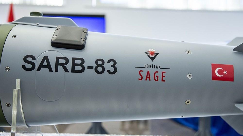 Silahlı drone Songar, askeri kara aracına entegre edildi (Türkiye'nin yeni nesil yerli silahları) - 34