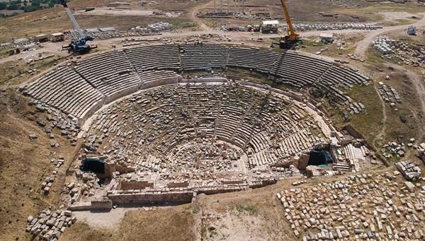 Laodikya Antik Kenti ziyaretçileri ağırlamaya hazırlanıyor