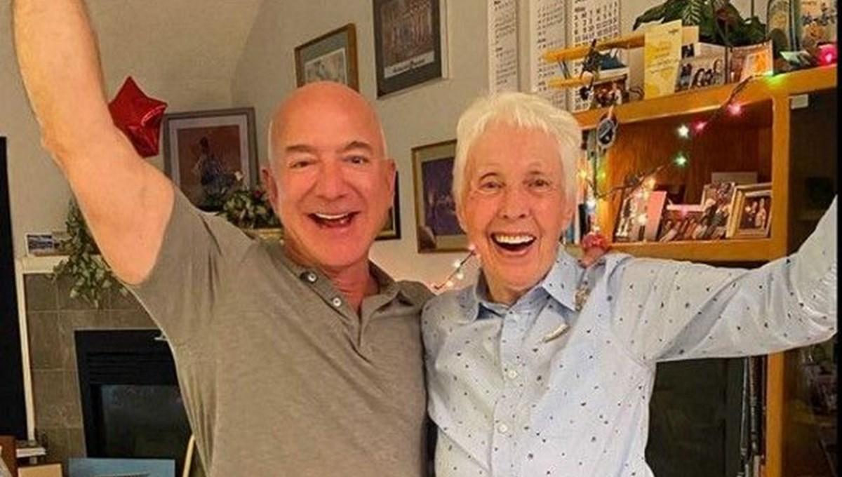 ABD'li 82 yaşındaki kadın pilot Wally Funk, Jeff Bezos ile uzaya uçacak