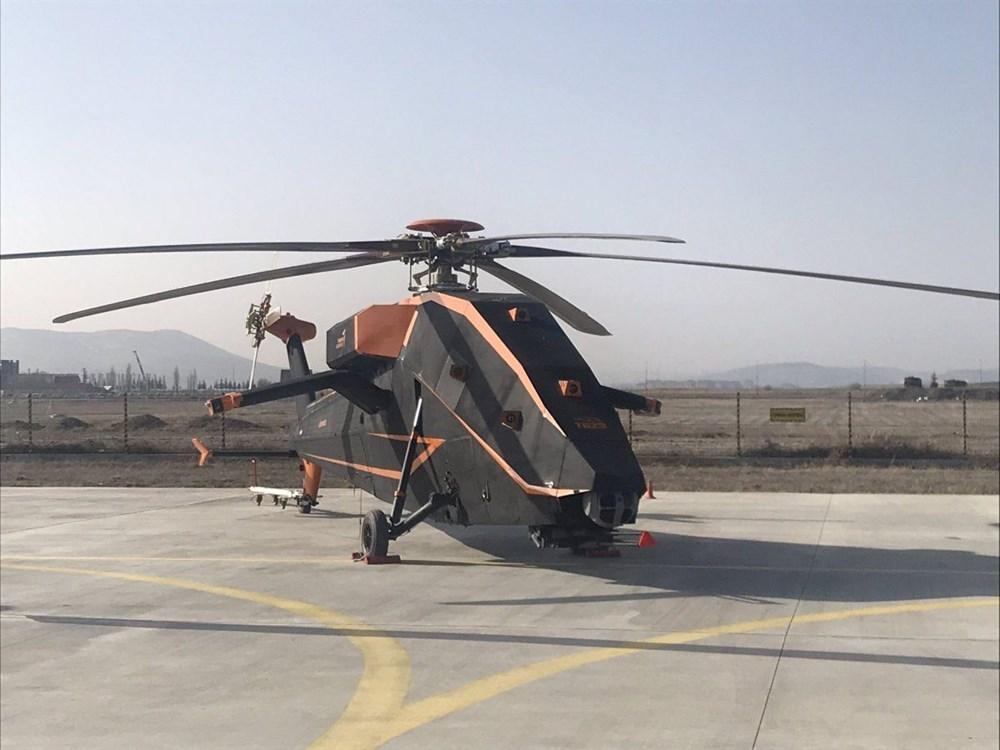 TUSAŞ'ın insansız elektrikli taarruz helikopteri T629 ilk kez görüntülendi (Türkiye'nin yeni nesil yerli silahları) - 3