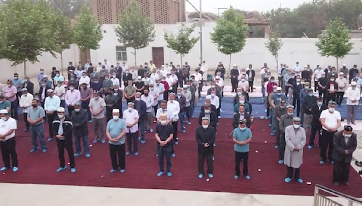 Eid prayers in China