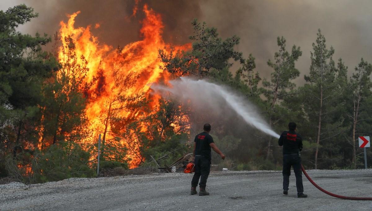 4 ilde alevlerle mücadele (Orman yangınlarında son durum)