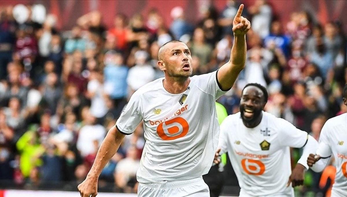 Burak Yılmaz gol attığı maçta Şampiyonlar Ligi'nde tarihe geçti