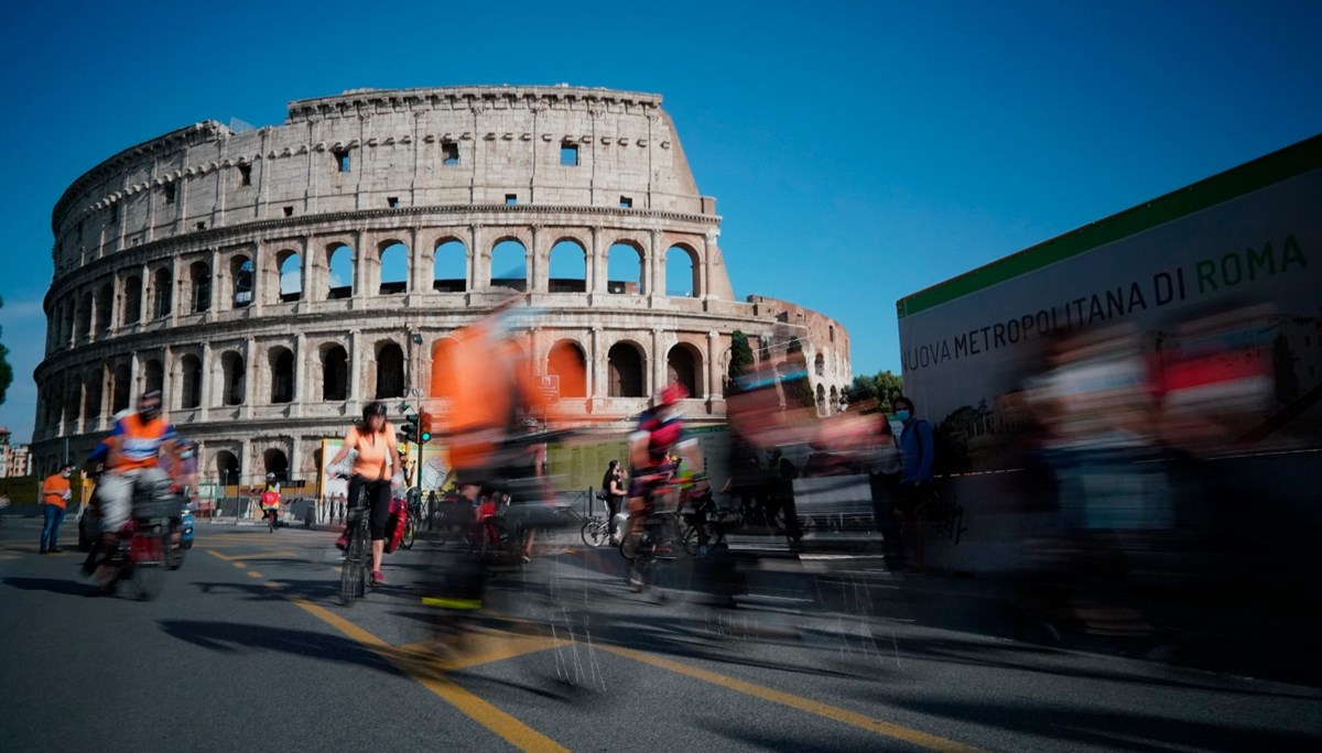 Roma'daki Kolezyum'un (Colosseum) yeraltı tünelleri ilk kez ziyarete açılıyor