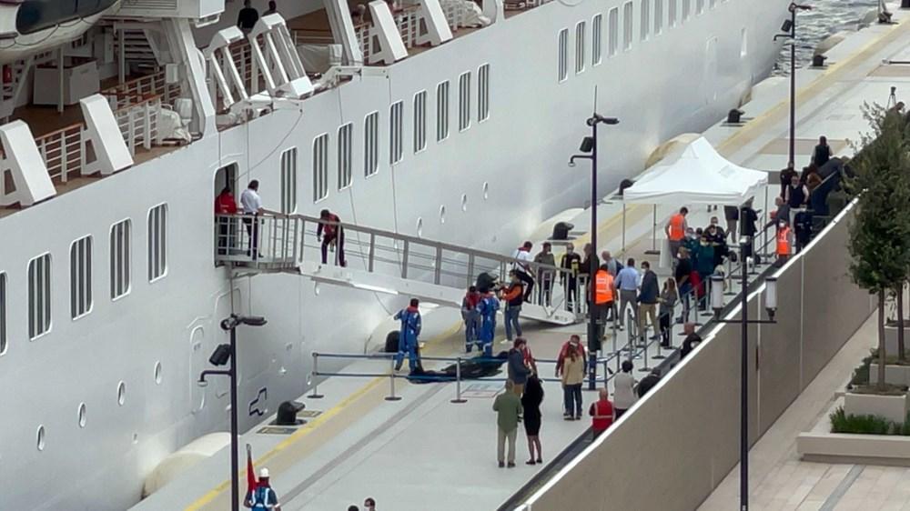 Galataport İstanbul'a ikinci yolcu gemisi demir attı - 5