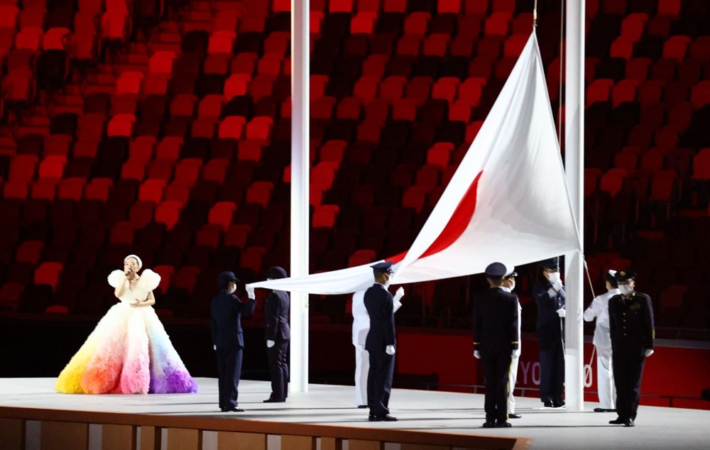 2020 Tokyo Olimpiyatları görkemli açılış töreniyle başladı - 23