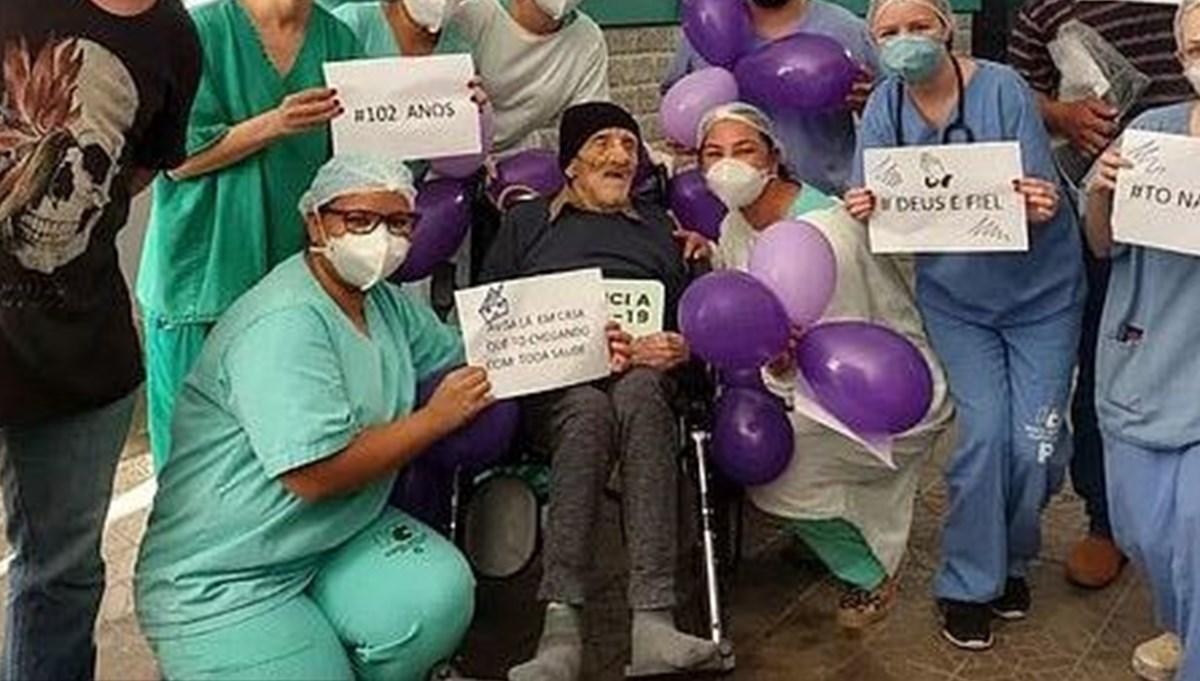 9 aylıkken İspanyol gribini, 102 yaşında corona virüsü yendi